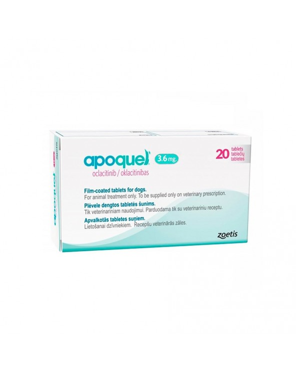 APOQUEL 3,6 mg 20 Comp.